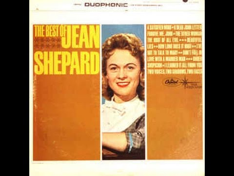 Jean Shepard - **TRIBUTE** - I've Got To Talk To Mary (1961).