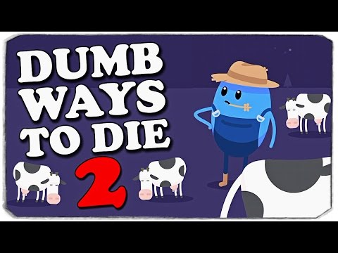 Dumb Ways To Die 2: ОБЗОР КОСМИЧЕСКИХ УРОВНЕЙ!