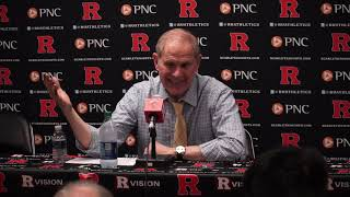 Michigan Basketball - Beilein talks win over Rutgers