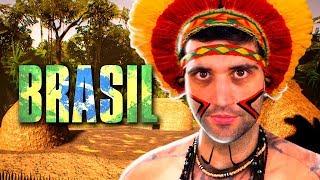 O jogo dos ÍNDIOS da AMAZÔNIA no Brasil