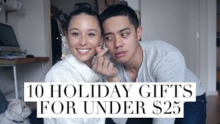 10 Perfect Gifts Under $25 For Him & Her || Aja Dang || Brian Puspos