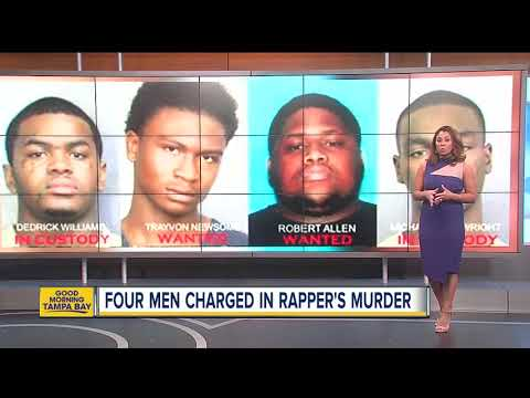 Four indicted in murder of rapper XXXTentacion