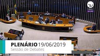 Plenário - Sessão de debates - 19/06/2019 - 13:00 thumbnail