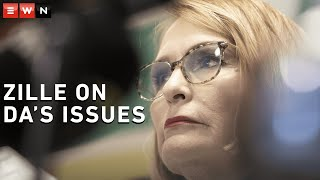 EWN's Clement Manyathela sat down with Helen Zille after she was announced as the new Democratic Alliance Federal Council chair and spoke about the new position, the relationship with Mmusi Maimane and more.