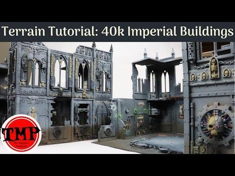 Painting Tutorials: 40K Imperial Buildings