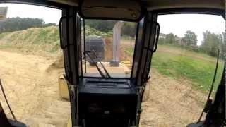 bulldozer cat d6n inside