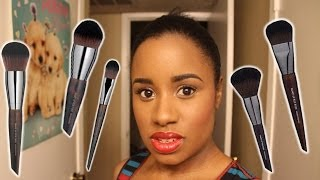 Makeup Forever Face Brushes (5 face brushes): 1st Impressions