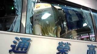 20110612 西門町AKB48 台灣店まゆゆ渡辺麻由來台- 遊覽車上跟大家揮手!^^ 真的是太棒了!能夠那麼近看到,真的是不虛此行阿!!XDDDDDDDD 電玩籃球...