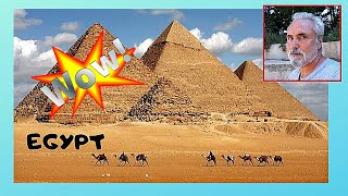 EGYPT: The fascinating PYRAMIDS OF GIZA and the mysterious SPHINX