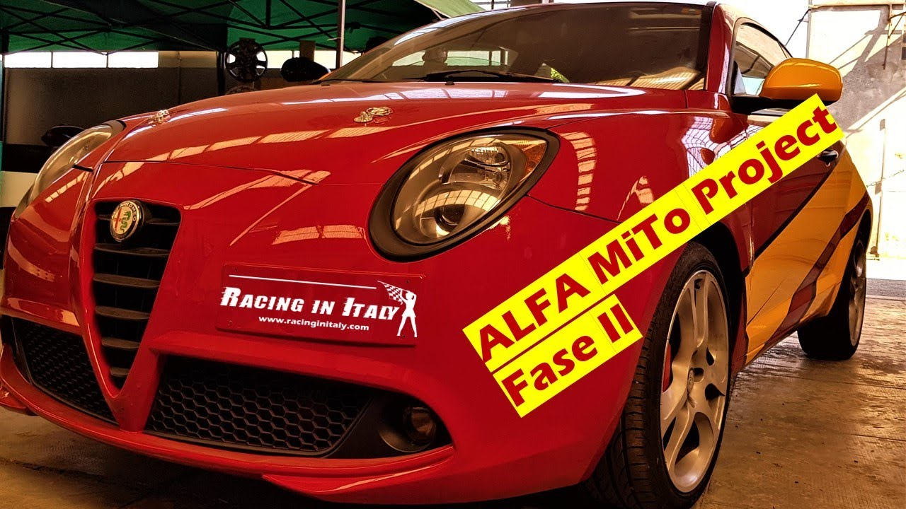 Come elaborare una Alfa Romeo MiTo 1.4Turbo - Seconda Fase