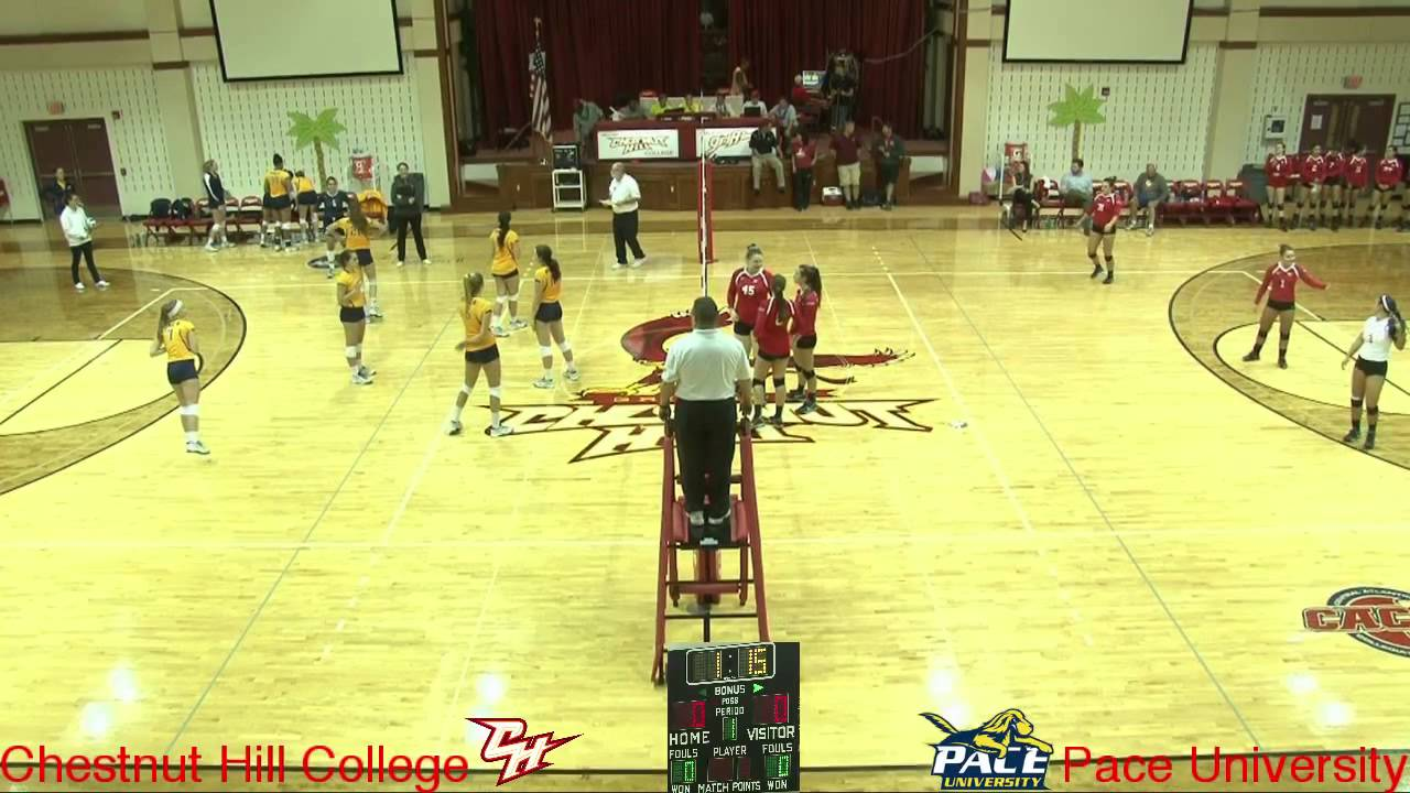 Volleyball - Chestnut Hill College vs Pace University - 9 ...
