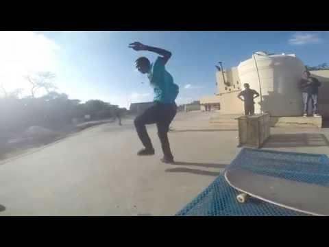 Charles Lungu skateboarding (THUG LIFE)