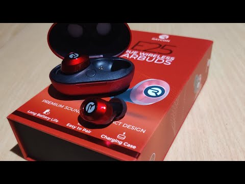 Raycon E25 Wireless Earbuds Unboxing Initial Review Youtube