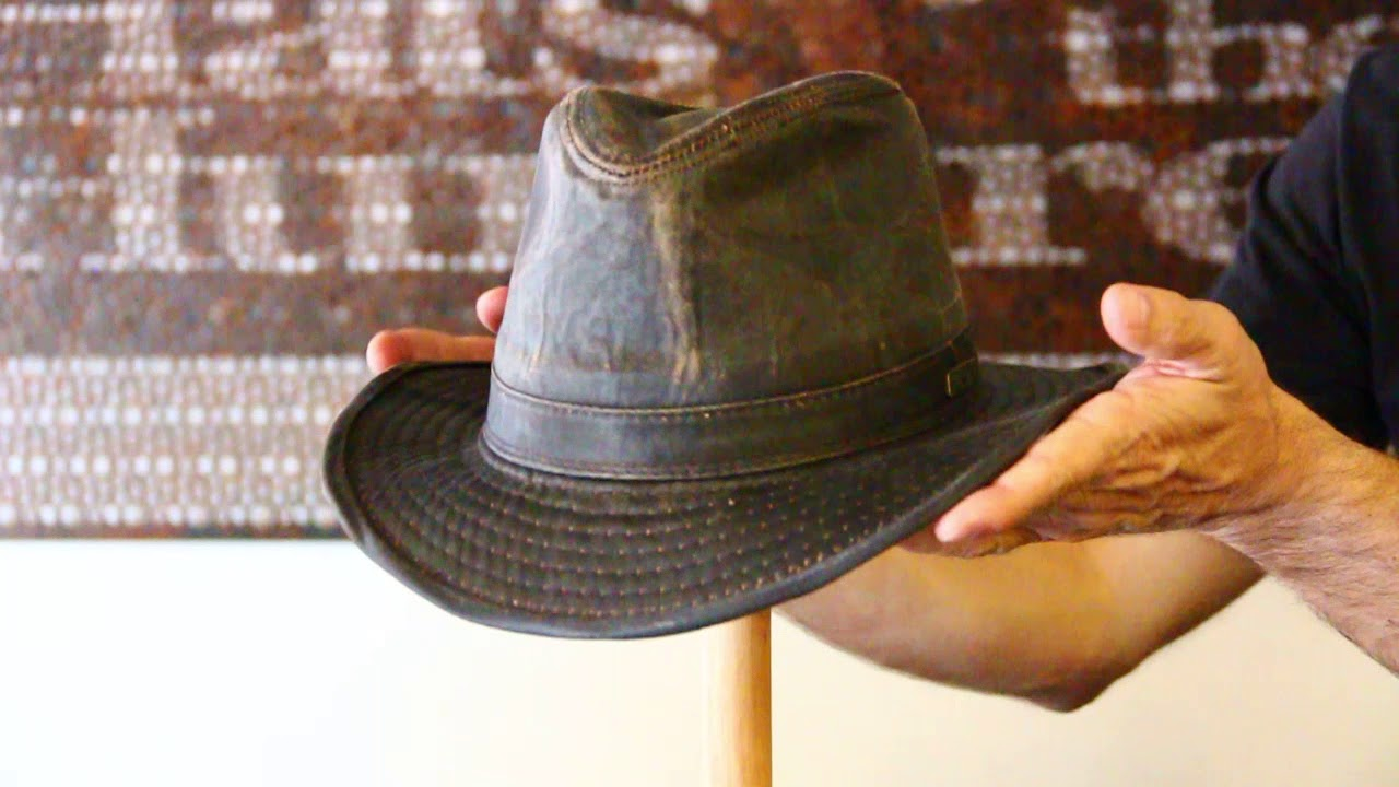 3cdeae399bd110 Indiana Jones Cotton Fedora Hat- Hats by the Hundred - YouTube