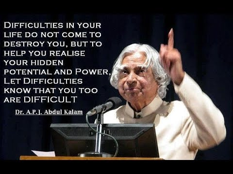 DR APJ ABDUL KALAM : AN INSPIRATION FOR YOUTH