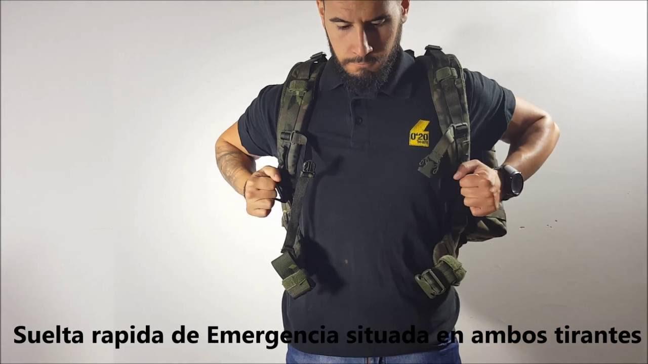 mochila altus militar