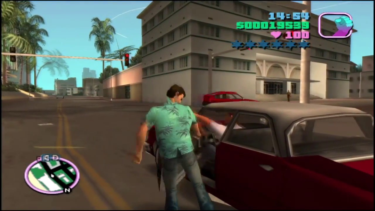 Grand theft auto Vice City Live part 3 #1