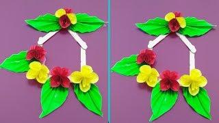 Best ice cream stick Craft idea | Popsicle Stick House Wall Hanging Craft Ideas | Room Decor ideas