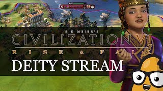 253 Turn Science Win on Deity with Korea Livestream - Civilization 6 Rise and Fall