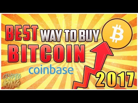 How To BUY BITCOIN 2017! (Best Way To Buy Bitcoins/BTC) CoinBase Cryptocurrency