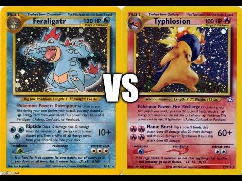 Heretic (Feraligatr) vs Treynor Wolfe (Typhlosion/Blaine's Arcanine) - 2001-02 Rocket-Neo Format