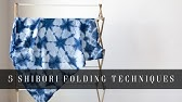 DIY: Shibori with Indigo Dye - YouTube