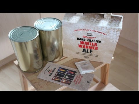 Muntons Hand Crafted - Winter Warmer Ale - Beer Kit Review