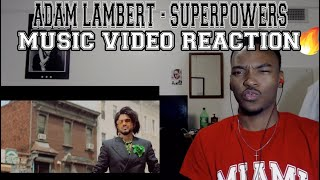 Adam Lambert - Superpower (Official Music Video) - REACTION