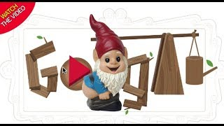 Google Doodle, History of the garden gnome game