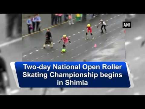 Two-day National Open Roller Skating Championship begins in Shimla