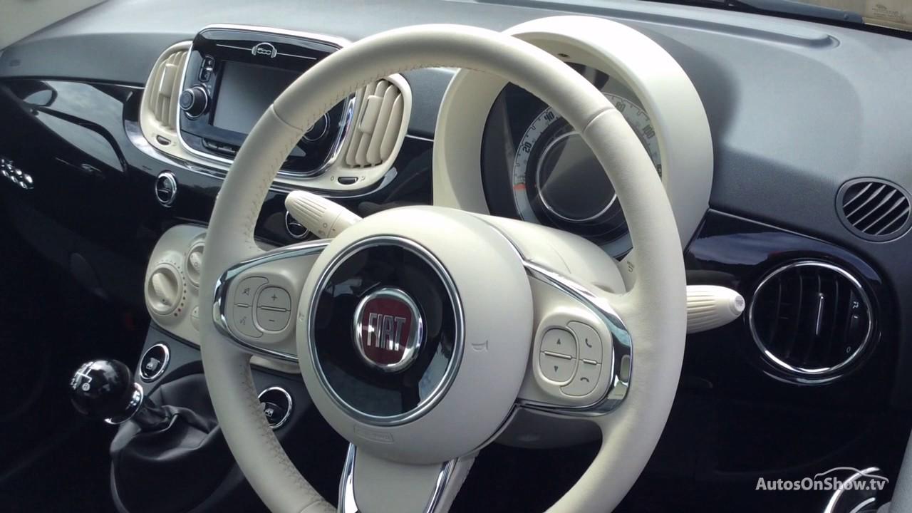 Fiat 500 Lounge Black 2017