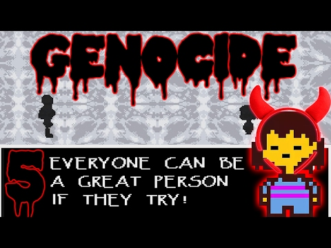 Undertale, Genocide, 5: Why Can't We Be Friends? Why Can't We Be Friends?
