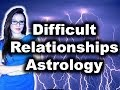 Difficult Relationships - Astrology Indications with Astrolada