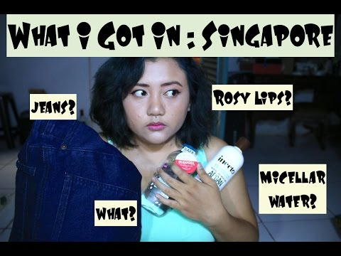 What I Got In : Singapore! | anjanidee