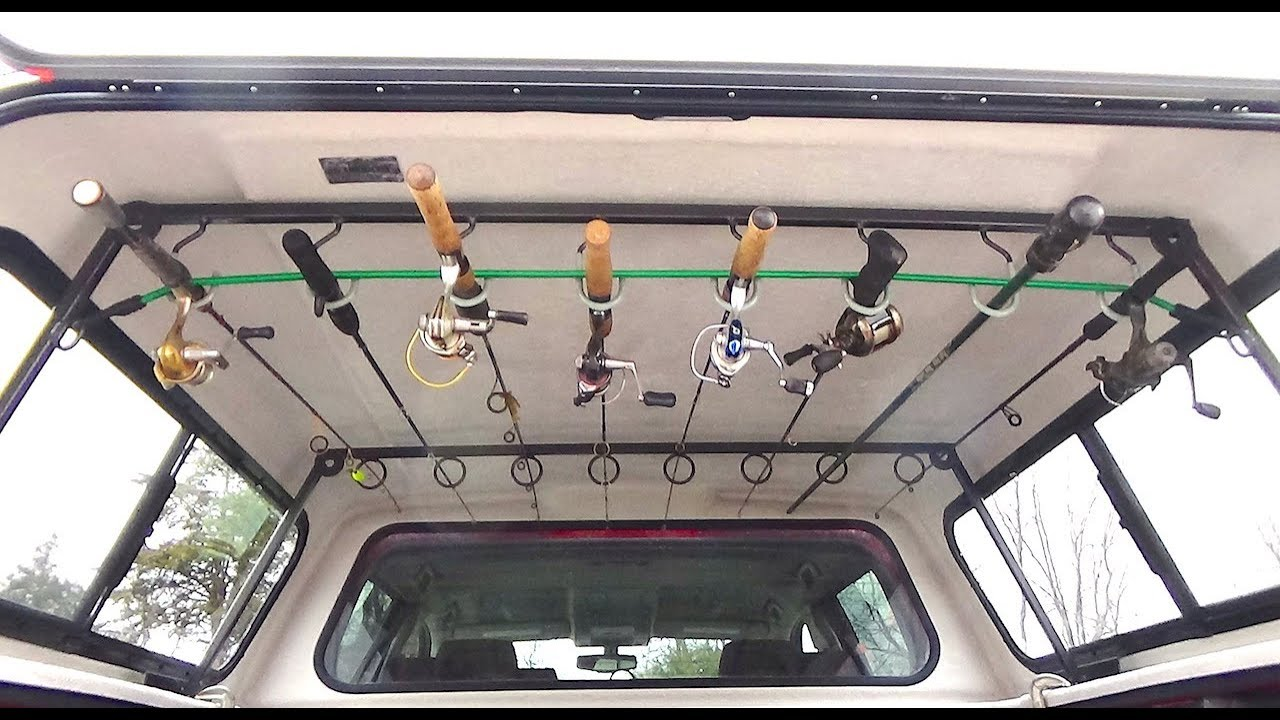 Ceiling Fishing Rod Rack Template  Shelly Lighting