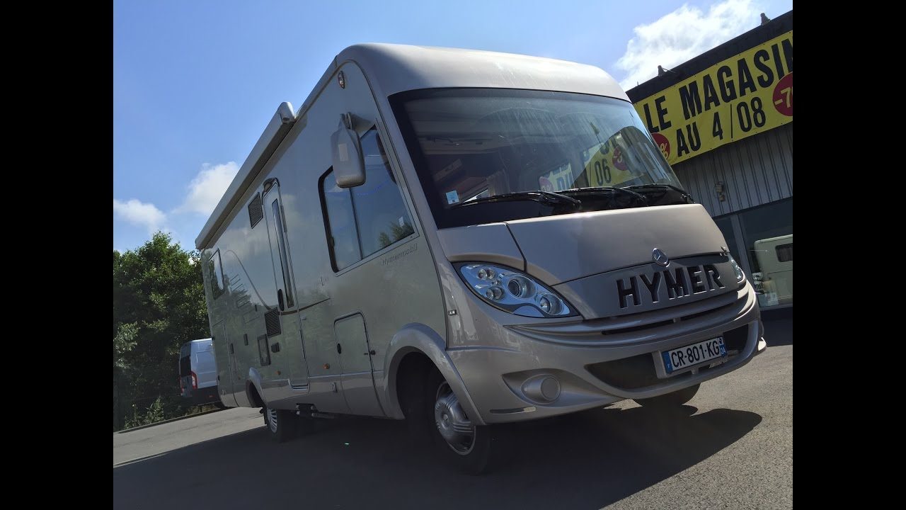camping car hymer b 690 starline occasion mercedes v6. Black Bedroom Furniture Sets. Home Design Ideas