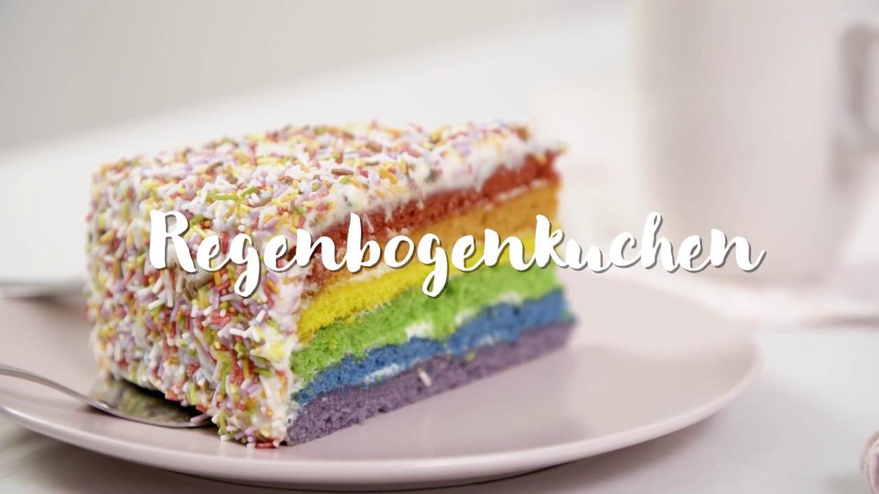 Regenbogenkuchen Youtube