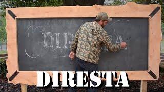 DiResta GIANT Chalkboard Build!