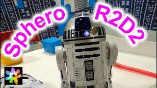 Герои звёздных войн среди нас. Робот Sphero R2D2. Выставка роботов Робополис