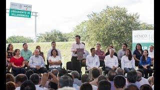 Entrega de la construcción del Libramiento Villahermosa, Primera Etapa thumbnail