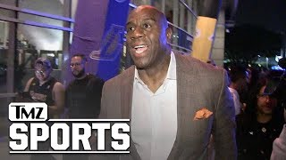 Magic Johnson Pumps Brakes On Lakers Hype After Win, 'It's Still Early' | TMZ Sports
