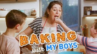Baking With My Boys || Mayim Bialik