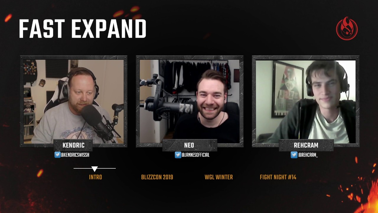 Podcast: Fast Expand, Ep. 3 feat. Back2Warcraft - Discussing WC3 Reforged and BlizzCon 2019