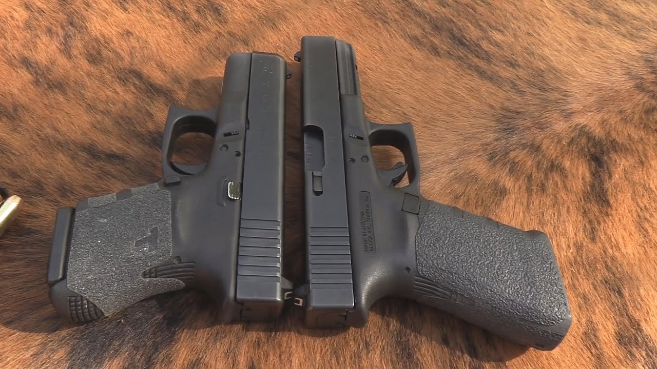 Glock 29 10mm vs Glock 20 10mm