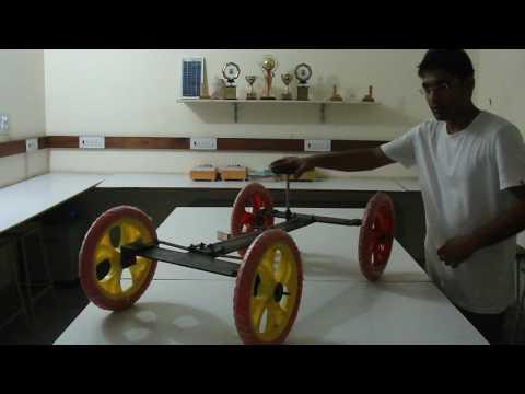Four Wheel Steering Design 2 Video