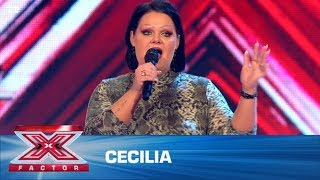 Cecilia synger 'Dance Monkey' - Tones And I (5 Chair Challenge) | X Factor 2020 | TV 2