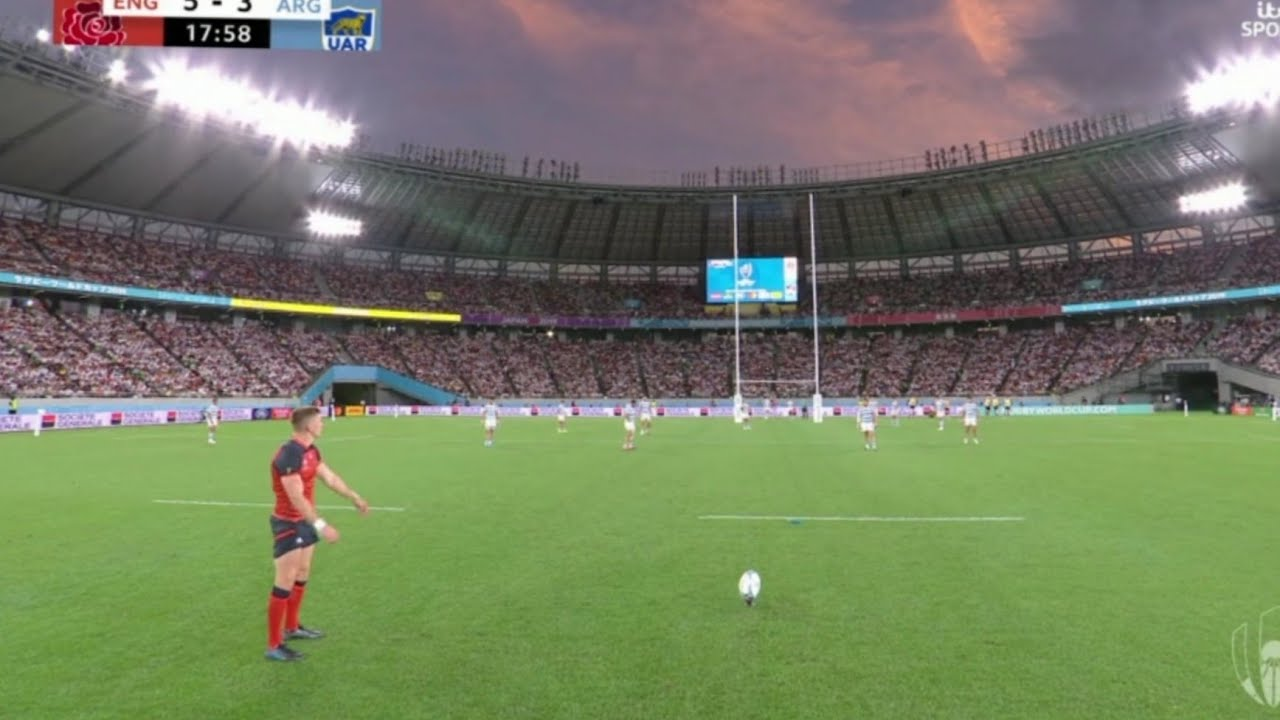 Owen Farrell Misses 4 Kicks in one half vs Argentina | Rugby World Cup 2019 Japan