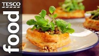 Finest* Stilton And Watercress Tart Recipe | Tesco Food