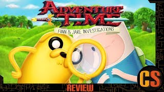 ADVENTURE TIME: FINN AND JAKE INVESTIGATIONS - PS4 REVIEW (Video Game Video Review)
