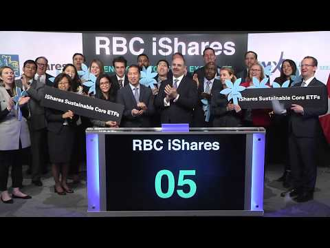 RBC IShares Opens Toronto Stock Exchange March 21, 2019